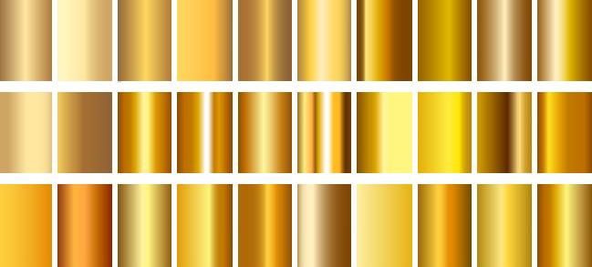 i colori dell'oro